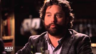 Zach Galifianakis Goes To Broadway - Speakeasy