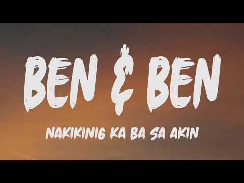 Download Ben & Ben - Nakikinig Ka Ba Sa Akin (Lyrics)