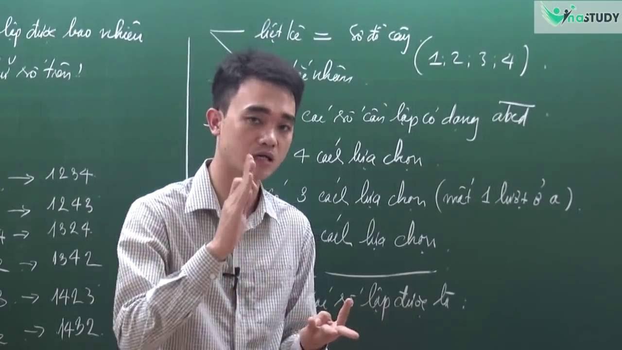 [Toán nâng cao lớp 5]  – Bài toán lập số tự nhiên – thầy Nguyễn Thành Long