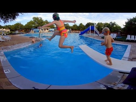 Slide and Diving Board in 3D and Virtual Reality