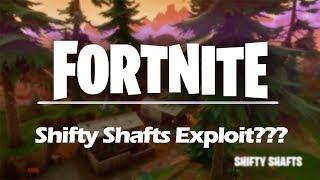 Fortnite: Shifty Shafts Exploit - Wallhack Glitch?