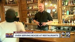 Looking at the issues of over-serving alcohol at Arizona bars