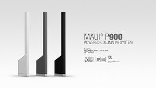 LD Systems MAUI P900 by Porsche Design Studio – Monumental Clarity