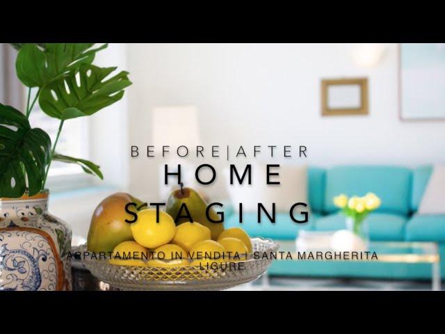 PRIMA E DOPO di un servizio di Home Staging su di un appartamento in vendita.