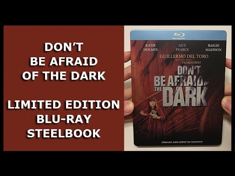 DON'T BE AFRAID OF THE DARK (2010) - LIMITED BLU-RAY STEELBOOK UNBOXING