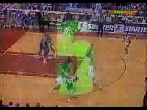 NBA Top 10 plays 1992-1993