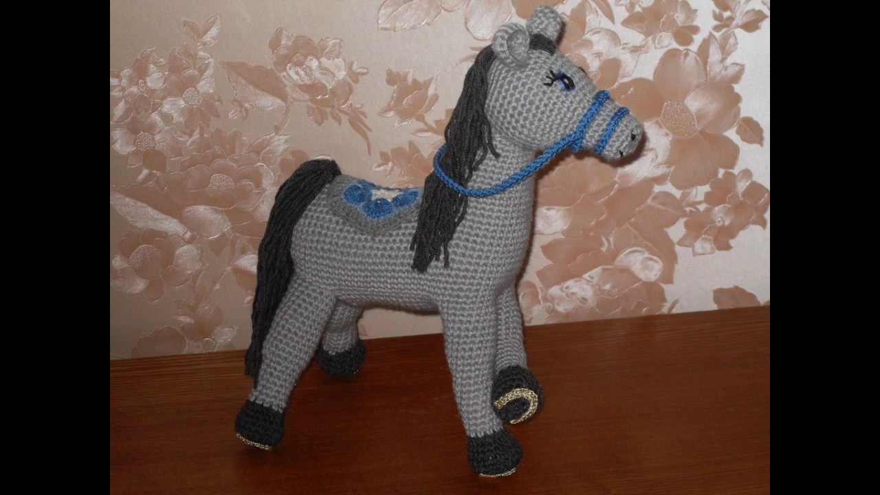 caballos tejidos a crochet faciles - YouTube