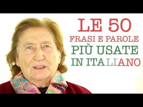 how to speak italian phrases video