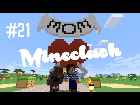 MINECRAFT WITH OUR MOMS - MINECLASH (EP.21)