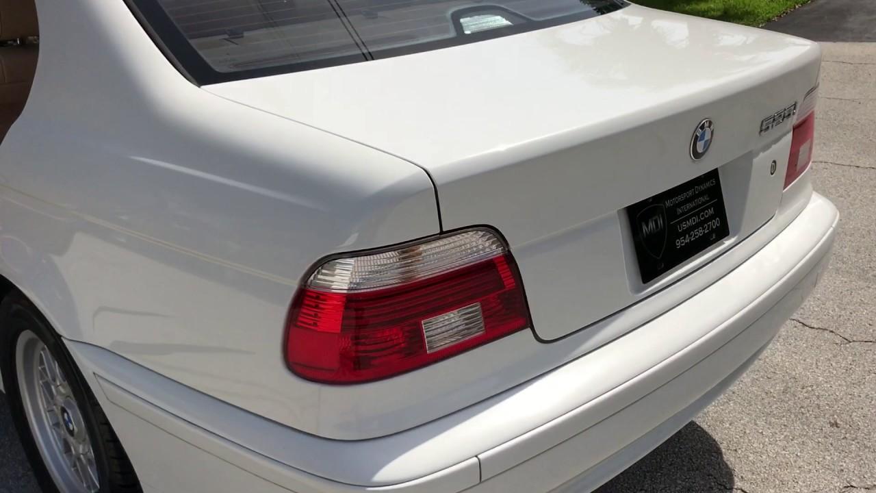 2001 bmw e39 525i alpine white for sale 89k clean 5 series 528i 530i 540i [ 1280 x 720 Pixel ]