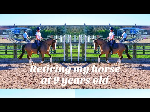 RETIRING MY HORSE AT 9 YEARS OLD | HACKETT EQUINE VLOG