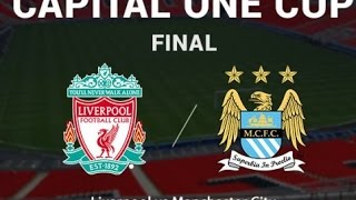 Hasil Liverpool Vs Manchester City 1-1 (1-3) Final Capital One Cup ( 28 2 2016 )