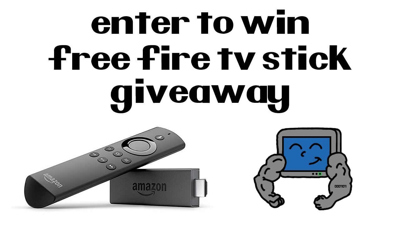 amazon tv giveaway all new amazon fire tv stick free giveaway mytechjam 288