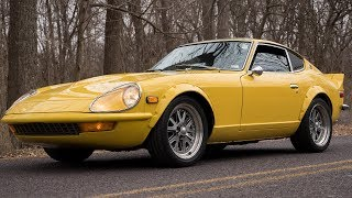 Put a V8 under the hood of a 1977 Datsun 280Z, and you'll have something amazing. || Review
