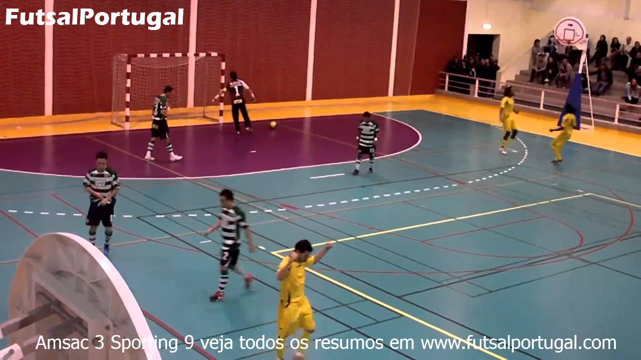Futsal :: 13J :: AMSAC - 3 x Sporting - 9 de 2010/2011