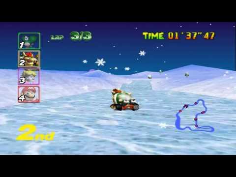 Mario Kart 64 - Flower Cup