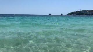 Hilos de combustible hallados en la playa de Magaluf