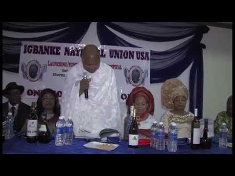 Igbanke National Union, USA - Launching/Fundraising. Pt B