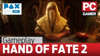 Hand of Fate 2 gameplay - fighting The Empress
