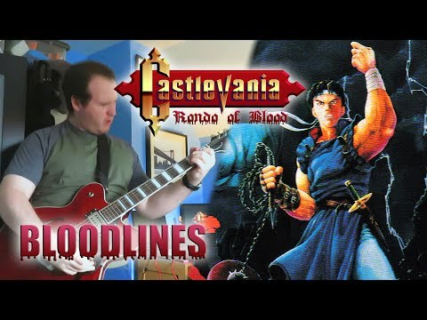 Castlevania: Rondo Of Blood - Bloodlines [Rock/Synth Cover]