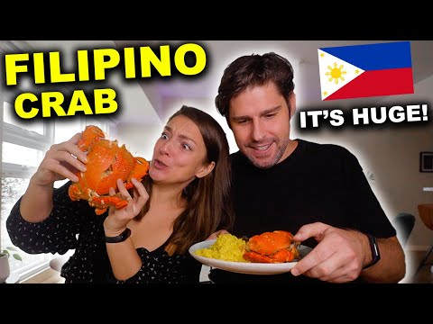 INSANE Filipino CRAB FEAST in Manila