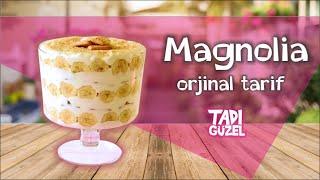 Magnolia tarifi ( orjinal lezzet) , tatlı tarifi , magnolia recipe
