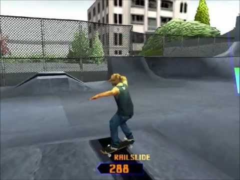 Grind Session PS1 Gameplay HD  Burnside