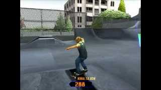 Grind Session PS1 Gameplay HD - Burnside