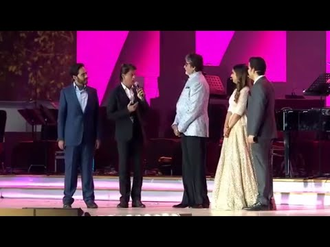 Amitabh Bachchan, Shah Rukh Khan Host Reliance RIL 40 Years
