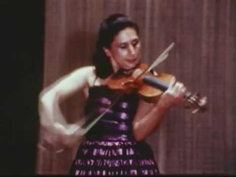 Niccolo Paganini: Sonata in A Major (encore)