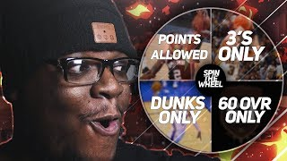 SPIN THE WHEEL OF CHALLENGES LIVE (GONE EXTREMELY WRONG) WHO GOING BALD TODAY?! NBA 2K18