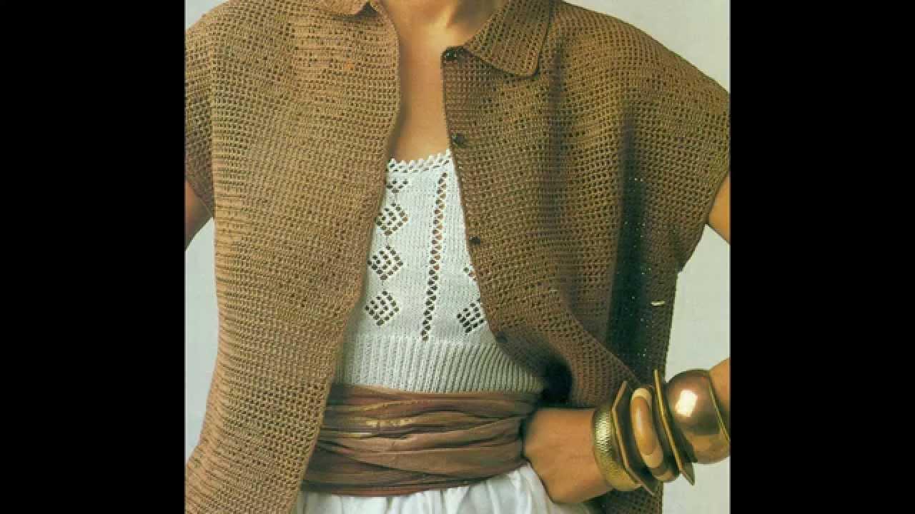 Asombroso Patrón De Crochet Youtube Cresta - Ideas de Patrones de ...