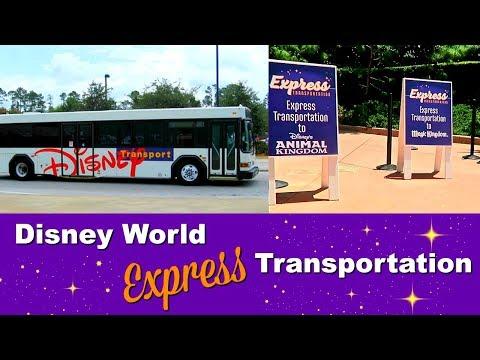 Disney World Express transportation bus service