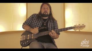 Fernando Quesada   Full speed official GHS Bass Strings