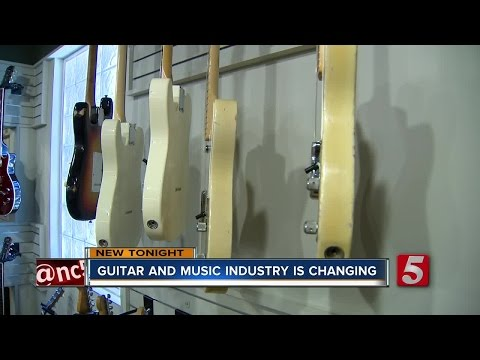 Is The Electric Guitar Dying A Slow Death?