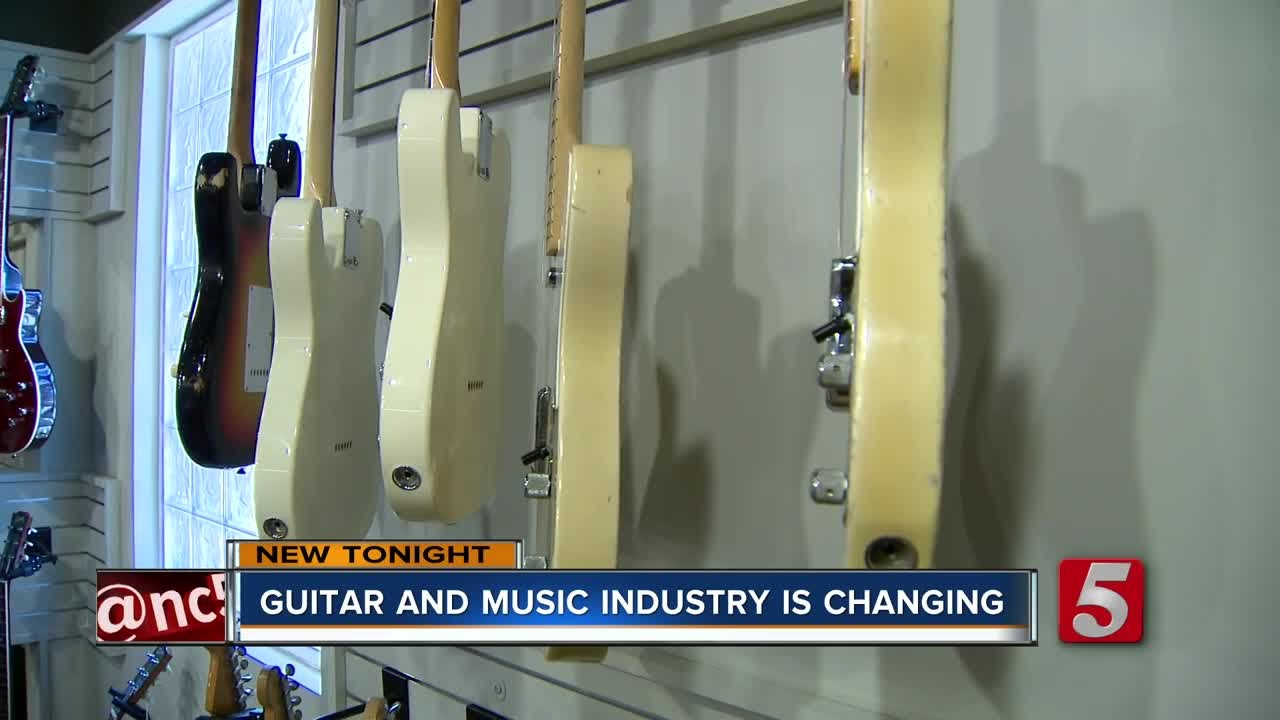 Is It True The Electric Guitar Is Dying? – GMI – Guitar