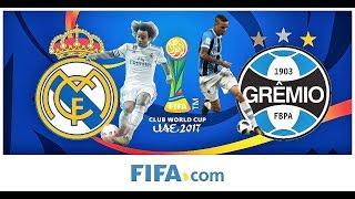 Real Madrid vs Gremio | Final | Mundial Clubes FIFA 2017 - Simulador Fifa 18