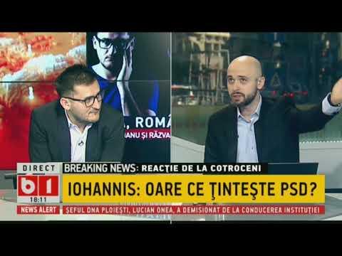 Buna, Romania! cu Buzaianu si Zamfir. IOHANNIS: CE TINTESTE PSD? 22 MAI 2018. P1/2