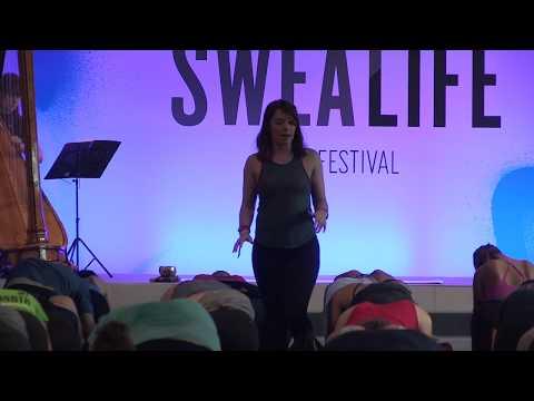 lululemon | 40 minute yoga session with Ambassador Katy Bateman at Sweatlife Festival