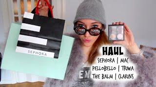 HAUL - Sephora, MAC, Nelly.com, Pellobello, Triwa m.m