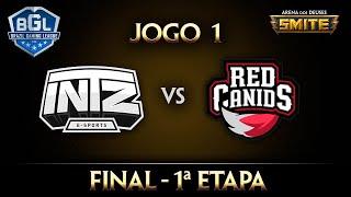 intz x red final jogo 1 smite bgl 2016 1ª etapa