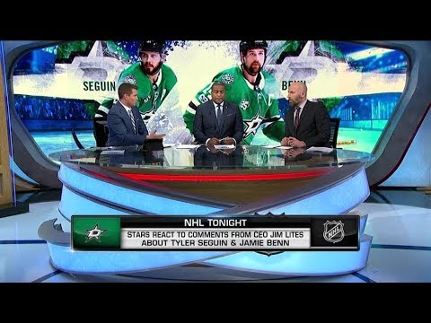 NHL Tonight:  Dallas Stars react to CEO`s comments about Seguin and Benn   Dec 30,  2018