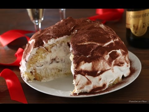 Zuccotto Di Pandoro Panna E Nutella Youtube