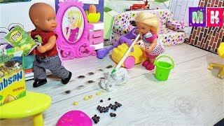 КАТЯ ДЕЖУРНАЯ. КАТЯ И МАКС ВЕСЕЛАЯ СЕМЕЙКА #Мультик с куклами #Барби #новые серии