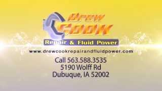 Heavy Equipment Repair Dubuque, IA | Drew Cook Repair & Fluid Power