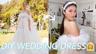 [SUB]DIY WEDDING DRESS♀️DIY 셀…