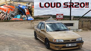 This video contains two LOUD NISSAN SR20's!!!