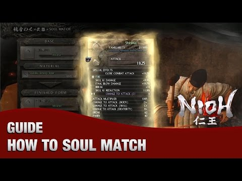 Nioh – How to Soul Match (Complete Guide Up to Level 160+10)