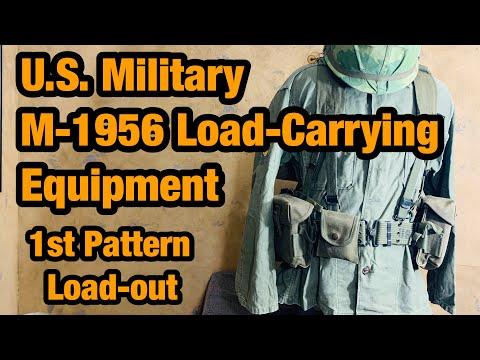 M1956 Load-Carrying Equipment 1st Pattern U.S. Web Gear