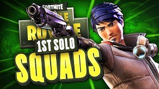 MY FIRST SOLO SQUADS! - Fortnite Battle Royale thumbnail